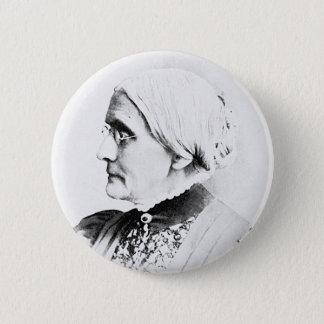 Badge Rond 5 Cm Chef de Susan B. Woman Suffrage de ~ d'Anthony