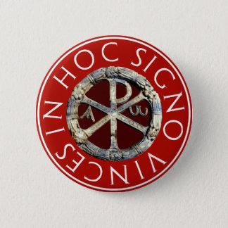 Badge Rond 5 Cm Chi-Rho