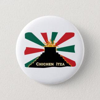Badge Rond 5 Cm Chichen Itza