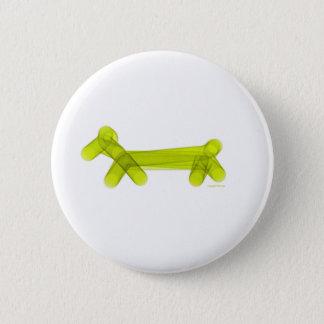 Badge Rond 5 Cm Chienchien vert de ballon