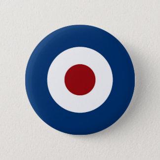 Badge Rond 5 Cm Cible de tir à l'arc de boudine de mod