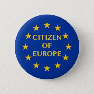 Badge Rond 5 Cm Citoyen de l'Europe