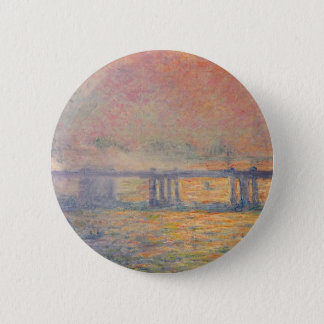 Badge Rond 5 Cm Claude Monet - Saint Louis de pont croisé de