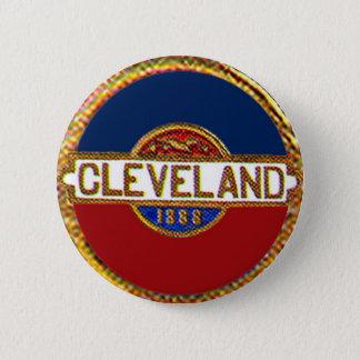 Badge Rond 5 Cm Cleveland - bouton