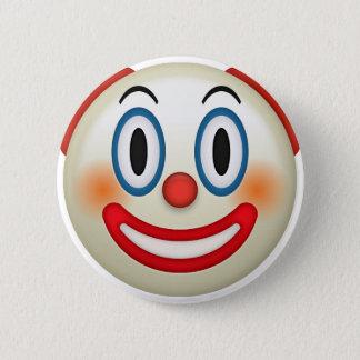 Badge Rond 5 Cm Clown fou Emoji