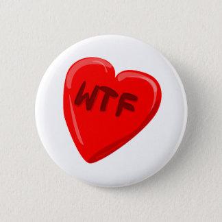 Badge Rond 5 Cm Coeur de WTF