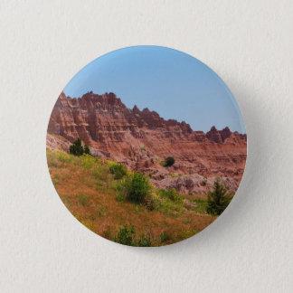 """Badge Rond 5 Cm Collection """"de falaises rouges éloignées"""""""