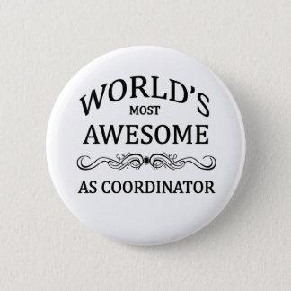 Badge Rond 5 Cm COMME coordonnateur