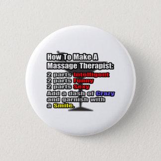Badge Rond 5 Cm Comment faire un thérapeute de massage