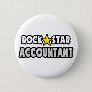 Badge Rond 5 Cm Comptable de vedette du rock