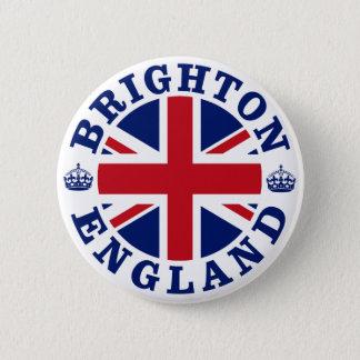 Badge Rond 5 Cm Conception BRITANNIQUE de cru de Brighton
