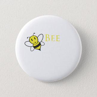 Badge Rond 5 Cm Conception inspirée libre d'abeille