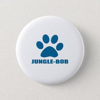BADGE ROND 5 CM CONCEPTIONS DE CAT DE JUNGLE-BOB