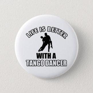 Badge Rond 5 Cm Conceptions de danse de tango