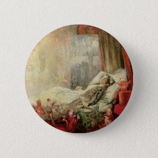 Badge Rond 5 Cm Conte de fées vintage, substance de laquelle on