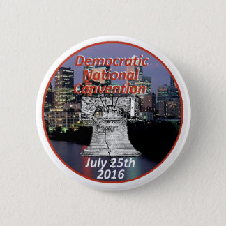 Badge Rond 5 Cm Convention démocrate