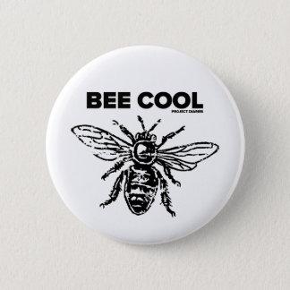 Badge Rond 5 Cm Cool d'abeille