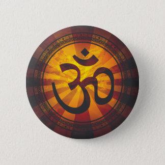 Badge Rond 5 Cm Copie vintage de symbole de l'OM