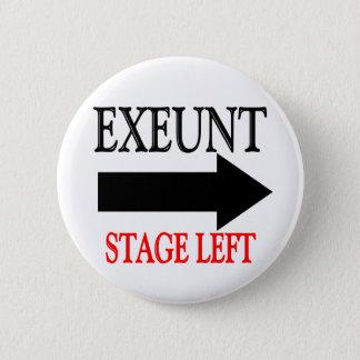 Badge Rond 5 Cm Côté cour d'Exeunt