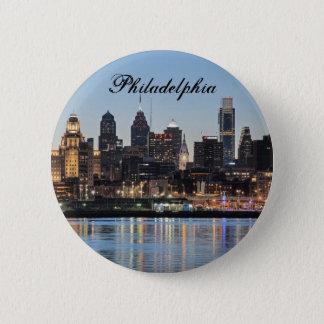 Badge Rond 5 Cm Coucher du soleil de Philly