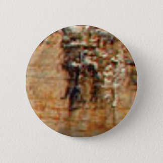 Badge Rond 5 Cm couches de roches de falaise