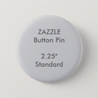"Badge Rond 5 Cm Coutume 2,25"" de ZAZZLE GRIS rond standard de Pin"