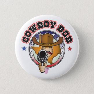 BADGE ROND 5 CM COWBOY BOB
