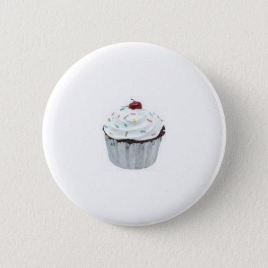 Badge Rond 5 Cm cupcake