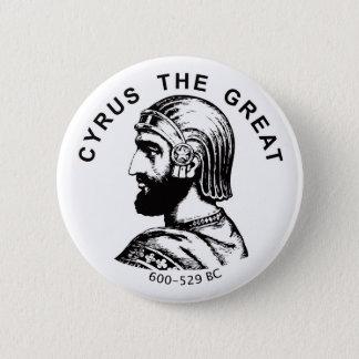 Badge Rond 5 Cm Cyrus le bouton rond de grand bozorg de kourosh