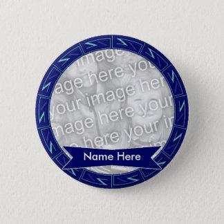 Badge Rond 5 Cm Dans la mémoire du bouton 007