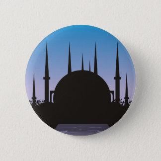 Badge Rond 5 Cm Dans l'ombre de Mecque