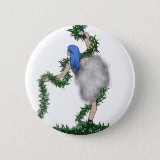 Badge Rond 5 Cm Danseur de nature