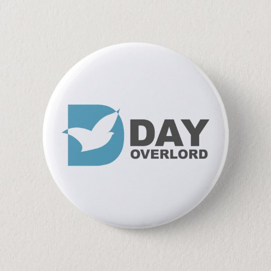 Badge Rond 5 Cm DDay-Overlord internet