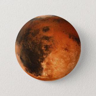 Badge Rond 5 Cm ~ de MARS de PLANÈTE (système solaire)