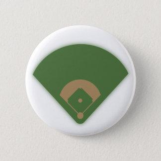 Badge Rond 5 Cm Diamant de base-ball :