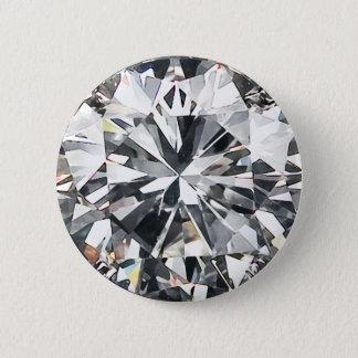 Badge Rond 5 Cm Diamants