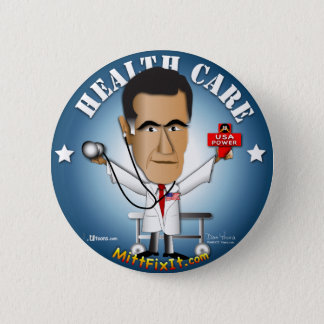 Badge Rond 5 Cm Difficulté de gant il - soins de santé