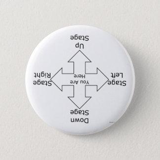 Badge Rond 5 Cm Directions d'étape