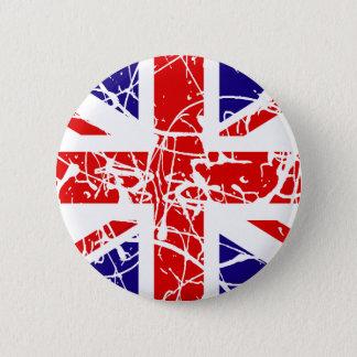 Badge Rond 5 Cm Drapeau BRITANNIQUE