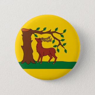 Badge Rond 5 Cm Drapeau de comté historique de Berkshire