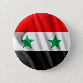 Badge Rond 5 Cm Drapeau de la Syrie bouton rond de 2 pouces
