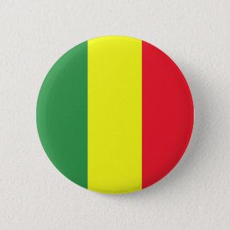 Badge Rond 5 Cm Drapeau de Rasta