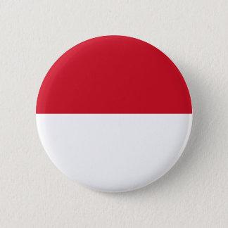 Badge Rond 5 Cm Drapeau du Maroc