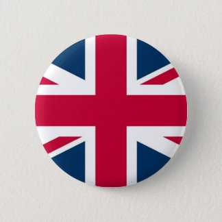 Badge Rond 5 Cm Drapeau d'Union Jack R-U