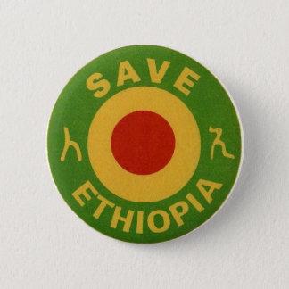 BADGE ROND 5 CM E.W.F. INC. - ÉCONOMIES ETHIOPIE - BOUTONS