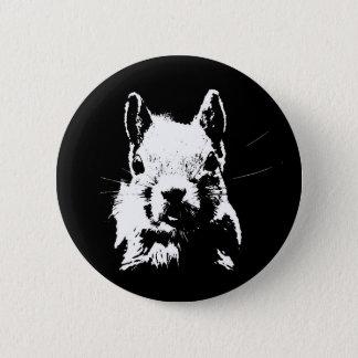 Badge Rond 5 Cm Écureuil
