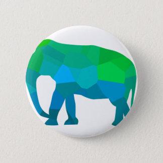 Badge Rond 5 Cm Éléphant 1 de mosaïque