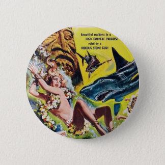 Badge Rond 5 Cm Elle dieux du bouton 2 (fille une) de film de Reff