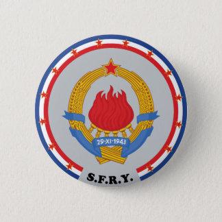 Badge Rond 5 Cm Emblème socialiste de la République fédérale de