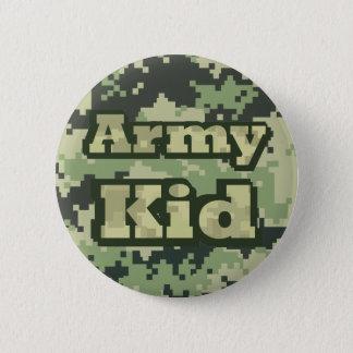 Badge Rond 5 Cm Enfant d'armée